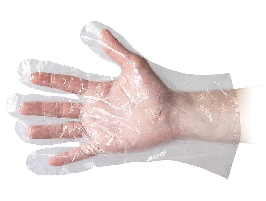 Polygloves food service material